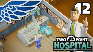 TWO POINT HOSPITAL | Research Lab Part 12 - Hospital Management Let