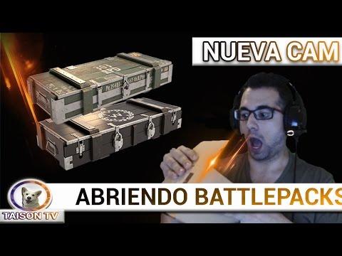 Battlefield 1 Abriendo Battlepacks con la