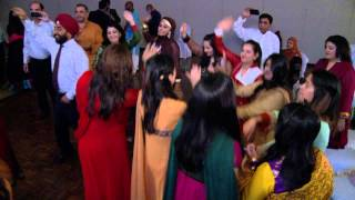 Mehndi Night Dance - An Indian Wedding Dance at A Mehndi Ceremony Toronto Wedding Videographer GTA