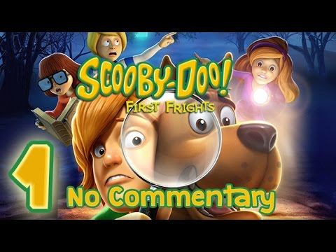 Scooby Doo First Frights Walkthrough Part 1 Wii PS2 No Commentary