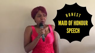 Thenjiwe the Maid of Honour. South African comedy