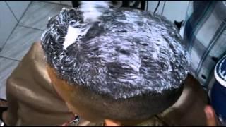 Como fazer alisamento em cabelos masculino