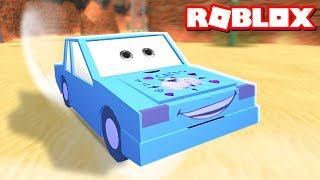DENIS IS A CAR IN THE ROBLOX CARS 3 OBBY!