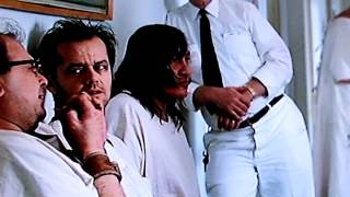 One Flew Over The Cuckoo's Nest 1975 Jack Nicholson & Louise Fletcher / 2nd