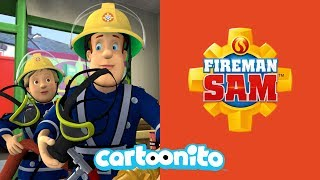 Fireman Sam | Sam's Day of Rescues | Cartoonito UK 🇬🇧