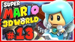 SUPER MARIO 3D WORLD # 13 🐱 Überflutung in der Fuzzy-Fabrik! [HD60] Let's Play Super Mario 3D World