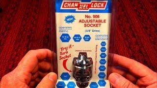 Channellock No. 906 Adjustable Socket