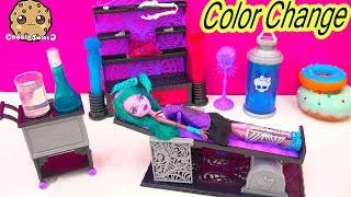 Create A Monster High COLOR CHANGER Doll Design Chamber CAM Playset Set Cookieswirlc