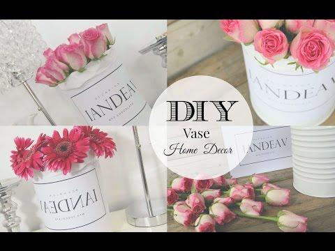 DIY San Valentine´s Day San Valentin Vase Home Room decor