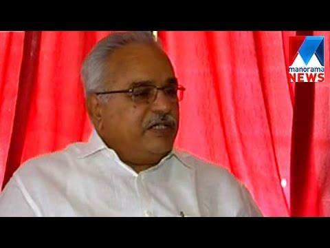 No politics was involved in T P senkumar's removal, says  Kanam | Manorama News