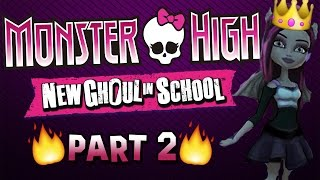 NEW CLOTHES & CLUBS - Monster High New Ghoul In School #2