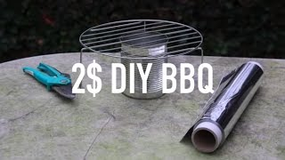 QUICK BBQ OUT OF A CAN HACK !