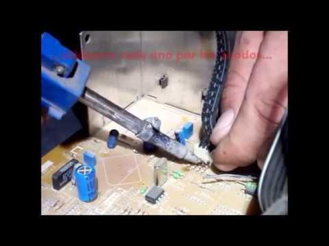 Reparacion TV Philips Se Apaga Anular Circuito IK Philips TV Repair Cancel IK Circuit
