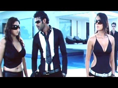 Comedy Scene Between Prabhas, Anushka, Namitha    Billa Movie
