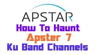 Dish Setup | Apstar 7 @76.5°E | Ku Band Channels | On 90cm Dish