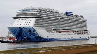 Emsüberführung Norwegian Bliss Norwegian Cruise Line NCL Wyland Breakaway Plus-Klasse Meyer Werft