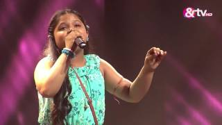 Riya Biswas - Liveshows - Episode 15 - September 10, 2016 - The Voice India Kids