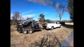 11k lbs of SCRAP METAL from ravine & farm cleanup