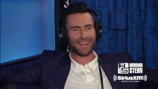 Adam Levine Talks What Goes on Behind the Scenes at