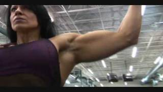 FEMALE BODYBUILDER laurie steele DIYMUSCLE.COM the best