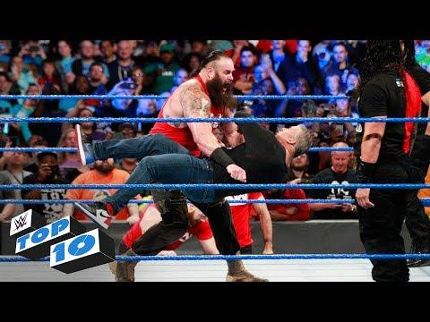 Xxx Mp4 Top 10 SmackDown LIVE Moments WWE Top 10 November 14 2017 3gp Sex