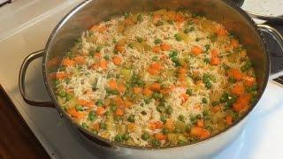 مطبخ الأكلات العراقيه - رز بالخضروات