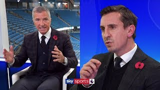 Gary Neville and Graeme Souness have HEATED debate about Man United | Super Sunday