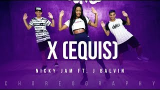 X (Equis) - Nicky Jam ft. J Balvin | FitDance Life (Coreografía) Dance Video