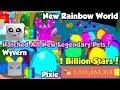 Update! Got All New Legendary Pets! 1 Billion Stars! New Rainbow Island! - Bubble Gum Simulator