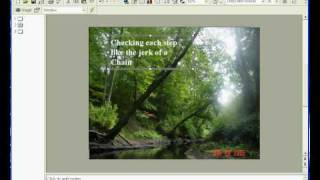 Creating Powerpoint Presentations that have both background music and narration