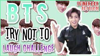 [방탄소년단 정국] BTS TRY NOT TO LAUGH CHALLENGE #1 | JUNGKOOK EDITION [DIFFICULT???]