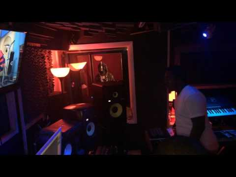 Koly P aka Kolyon In The Studio