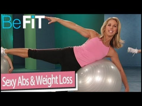 Sexy Abs & Weight Loss Stability Ball Workout Denise Austin