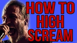 How To High Scream - Basics and Warm Up
