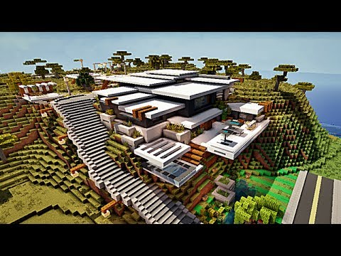 Minecraft Maison Moderne By Makapuchii Playithub Largest Videos Hub
