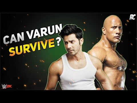 Xxx Mp4 WWE Fighting Games The Rock Vs Varun Dhawan Judwaa 2 Movie Full Match 3gp Sex