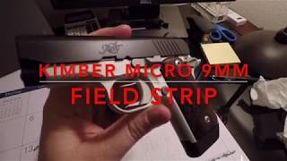 Kimber Micro 9mm Field Strip/Disassemble