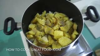 Potato & Onion Soup Recipe - Vegan