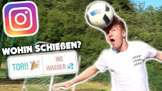 INSTAGRAM bestimmt 1 FUßBALL SPIEL 😱⚽