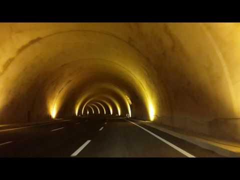 Akyazı Tünelinden ilk geçiş