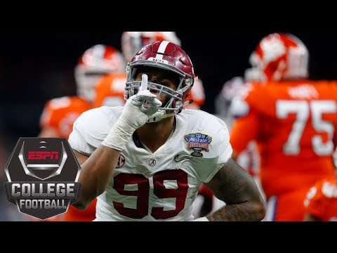 Alabama s defense is back after 2018 Sugar Bowl win over Clemson ESPN