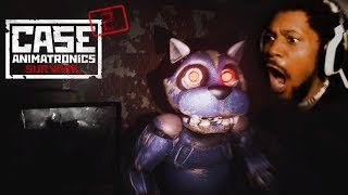 WHY IS HE RUNNING SO FAST!?   Case 2: Animatronics Survival
