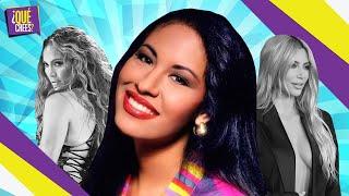 Selena Quintanilla en bikini supera a sus imitadoras, JLo y Kim | Qué Crees