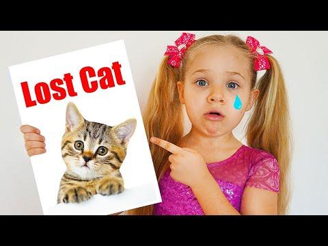 Diana perde seu gatinho & outras histórias de gatinhos