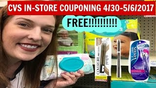 CVS In-store Couponing 4/30-5/6/2017 FREE Pampers Wipes. FREE Cover Girl, FREE Phyicians Formula