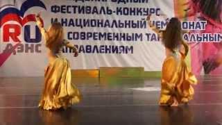 Duet Oasis Dance - Maria Sokolova & Tatiana Shelkunova.