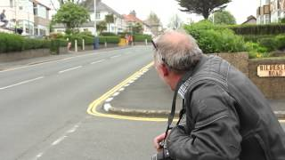 Dad's reaction to racers - Isle Of Man TT 2014