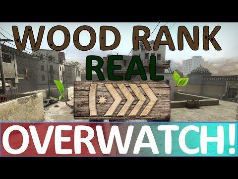Wood Rank is REAL! CS:GO OVERWATCH!