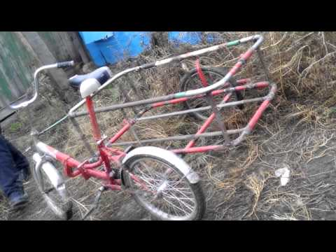 Велосипед с люлькой своими руками - Gallery-Oskol.ru
