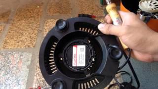Sửa máy xay sinh tố bị bốc khói